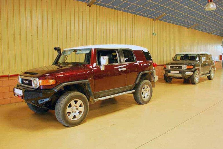 Toyota FJ Cruiser customization